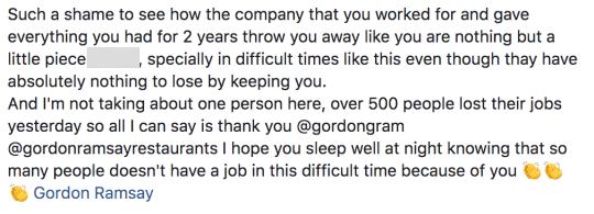 Biến căng: Master Chef Gordon Ramsay khiến 500 người ở Anh thất nghiệp giữa mùa dịch, mục đích tốt nhưng lại gây phẫn nộ - Ảnh 4.