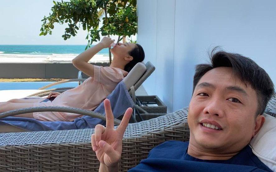 Vòng 2 lớn đến mức bạn bè thi nhau chúc mừng, còn nghi ngờ gì nữa chuyện Đàm Thu Trang mang thai sau 1 năm cưới Cường Đô La?