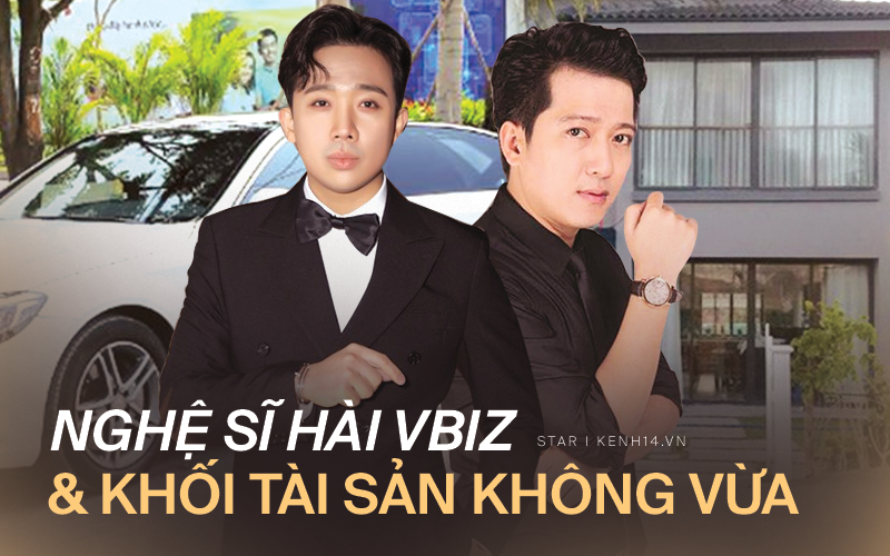 So khối tài sản của 4 nghệ sĩ hài đình đám Vbiz: Nhà Hoài Linh - Xuân Bắc -Trường Giang