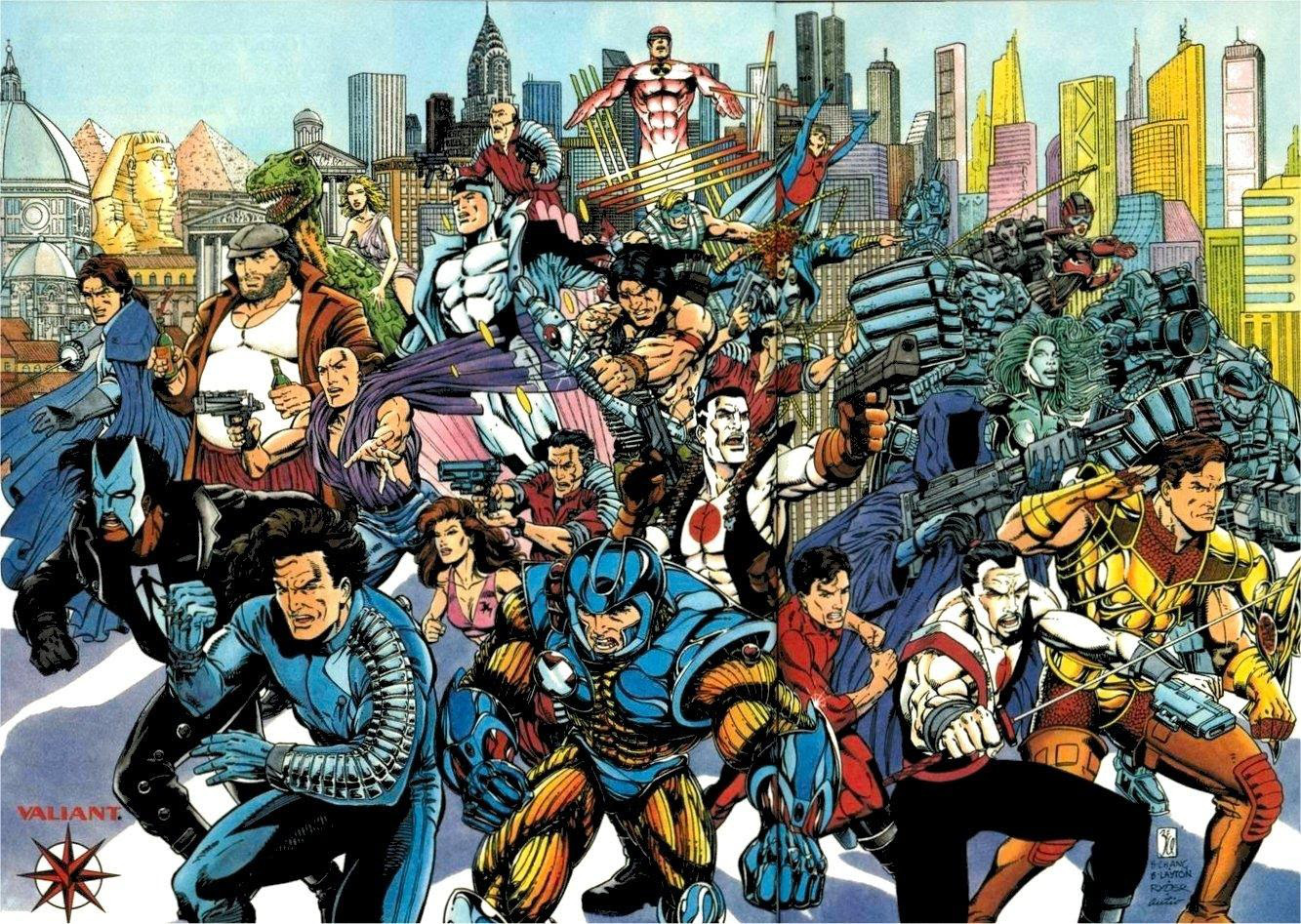 Vũ trụ điện ảnh siêu anh hùng Valiant.
