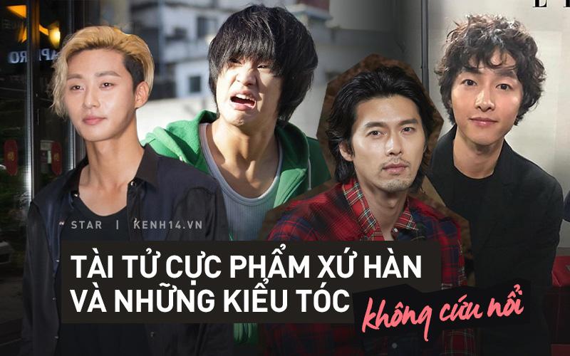 """Khi tài tử cực phẩm phải bó tay vì tóc """"khó đỡ"""": Song Joong Ki - Hyun Bin hóa thím, ngã ngửa khi kéo đến Park Seo Joon"""