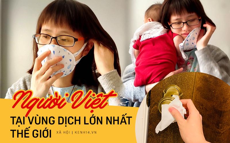 """Mẹ """"bỉm sữa"""" Việt ở Mỹ may khẩu trang từ quần em bé gây """"sốt"""" và cuộc sống tự cách ly tại vùng dịch Covid-19 lớn nhất thế giới"""