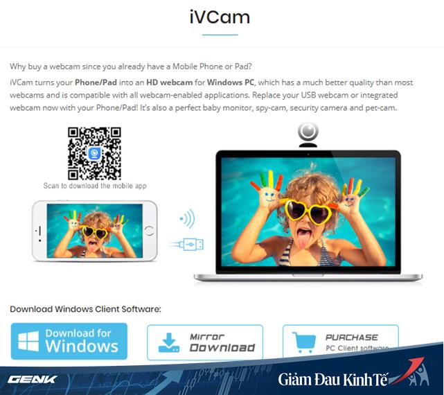 Họp trực tuyến nhưng máy tính không có webcam? Hãy tận dụng ngay chiếc smartphone của bạn - ảnh 3