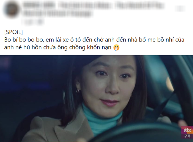 Chị đại Kim Hee Ae lái xe rước chồng đến thẳng nhà bồ nhí trong Thế Giới Hôn Nhân tập 5, trần đời ai ngầu như chế! - ảnh 10