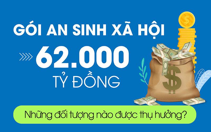 Ai sẽ được thụ hưởng từ gói an sinh xã hội 62.000 tỉ đồng?