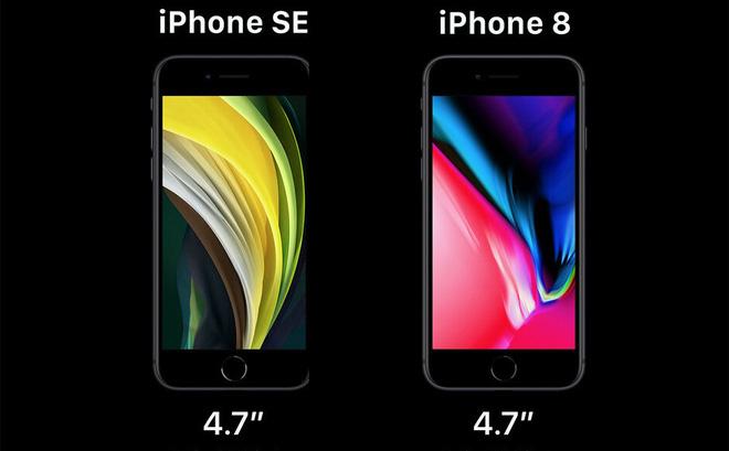 iPhone SE và iPhone 8 không có quá nhiều khác biệt