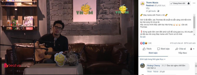 """Thơm Music Festival quay trở lại và """"lợi hại"""" hơn xưa với phiên bản online mùa Covid - Ảnh 3."""