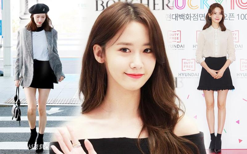 """Nhìn hành trình chân cong hóa thẳng của Yoona mà sốc: Nữ thần """"vòng kiềng"""" giờ đã hoàn hảo hết chỗ chê rồi!"""