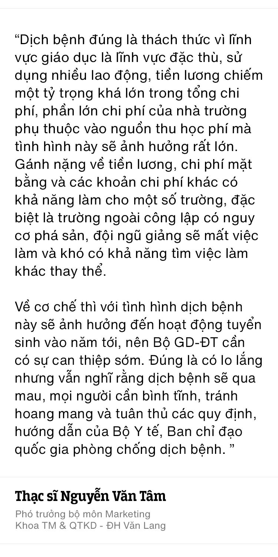 """""""Kỳ nghỉ Tết"""" dài nhất lịch sử của học sinh, sinh viên Việt Nam: Đây là lúc để chúng ta cùng thay đổi và tiến lên - ảnh 16"""