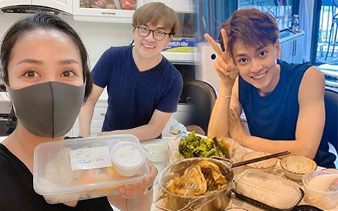 Học gấp hội bạn thân Vbiz chăm nhau mùa dịch: Tóc Tiên gửi món ngon đến từng nhà, Ngô Kiến Huy phải lên lịch nhận quà