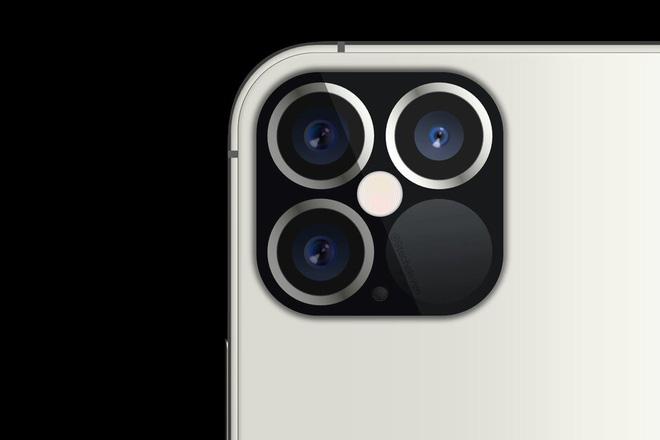 Lộ thiết kế cụm camera sau của iPhone 12 Pro, cảm biến LiDAR siêu to - ảnh 1