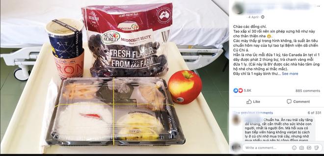 Những phần cơm cách ly bắt mắt và đẩy đủ dinh dưỡng gây sốt MXH: Thực đơn thay đổi liên tục, có thêm cả nho Úc, táo Canada - ảnh 1