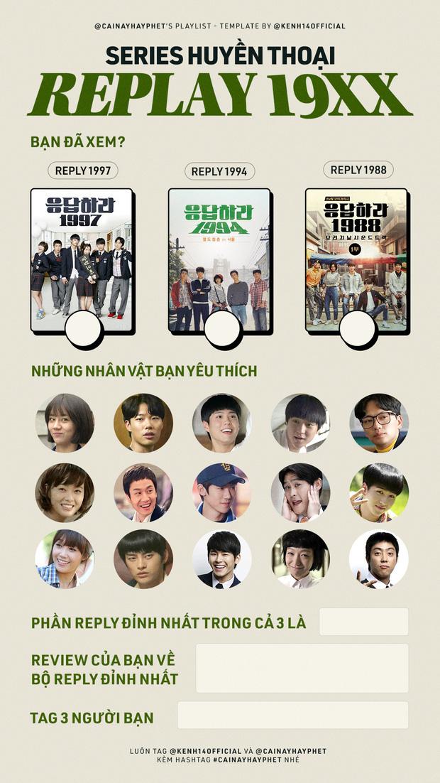 Series Reply 19XX khiến sao Việt phát cuồng: Diệu Nhi một lòng với Park Bo Gum, Nicky cày sạch cả 3 phần, Jun Phạm thốt lên đúng 3 từ! - ảnh 29