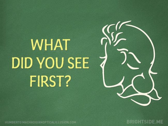Bạn nhìn thấy gương mặt của cô gái hay người đàn ông trong bức tranh này sẽ tiết lộ bạn cần làm gì để nhanh thành công? - ảnh 1