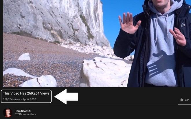 Như ma thuật ngoài đời thực: YouTuber hô biến tên video thành số view, tự động nhảy theo y hệt số người xem trực tiếp - ảnh 1