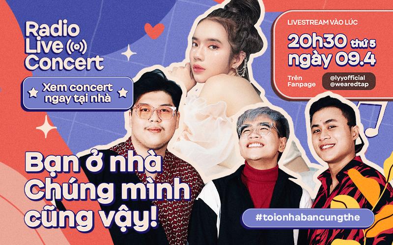 """Team hit-maker """"đổ bộ"""" Radio Live Concert: LyLy có ngẫu hứng hát bài mới, nghe DTAP kể chuyện làm nhạc dân gian cùng Hoàng Thùy Linh?"""
