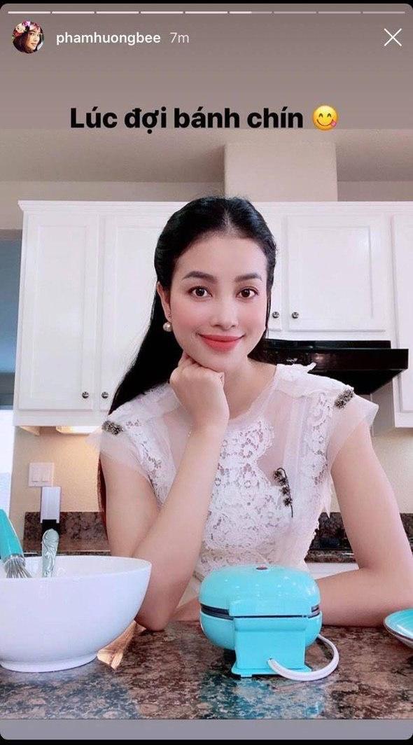 """Thánh soi """"bắt quả tang"""" chi tiết sai sai trong ảnh sống ảo của Phạm Hương, chính căn bếp vô tình nói lên tất cả - ảnh 2"""