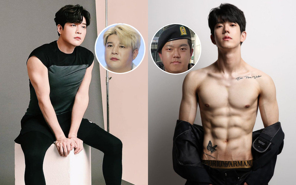 2 nam idol Kpop khoe thành tích giảm cân đáng nể để có thân hình 6 múi
