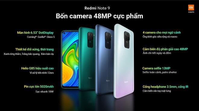 Redmi Note 9 và Redmi Note 9 Pro ra mắt tại Việt Nam: Màn hình đục lỗ, 4 camera, giá từ 3.99 triệu đồng - ảnh 4