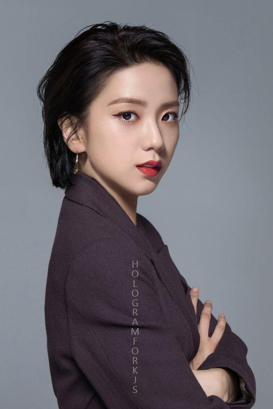 Nhiều người chê Jisoo xinh mà nhạt nhưng nếu cô thật sự để kiểu tóc này thì dân tình sẽ phải câm nín vì quá chất - Ảnh 7.