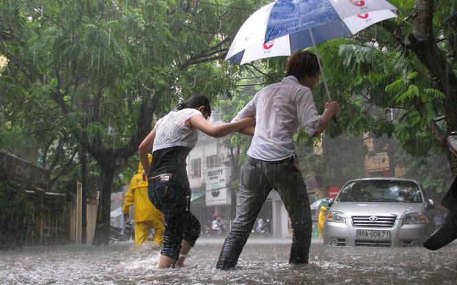 Chấm dứt nắng nóng 40 độ, Hà Nội dự báo có mưa giông từ chiều tối và đêm nay