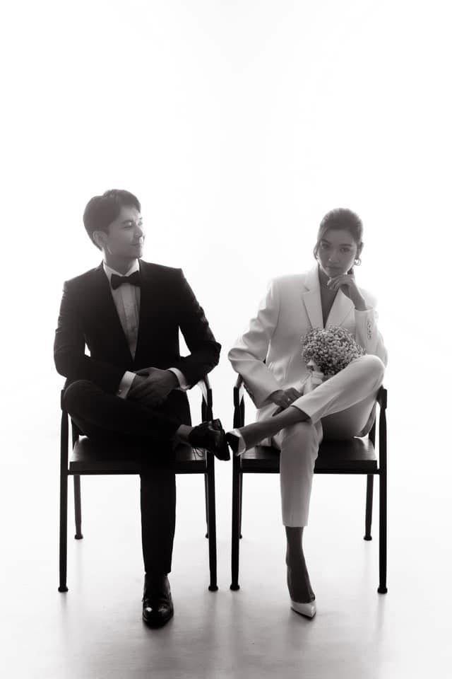 Ảnh cưới style cực nam tính của Thúy Vân được hé lộ, ngày cưới chính thức vẫn là ẩn số - ảnh 1