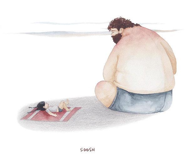 Tâm thư cha gửi con làm nhiều người rơi nước mắt: Con gái, kết hôn không bao giờ có hạn chót. Đừng quá hà khắc với bản thân mình! - ảnh 2