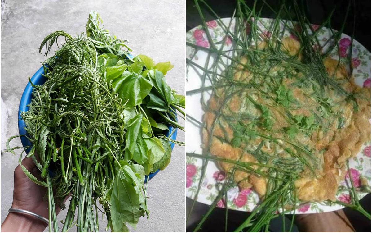 Vùng Tây Bắc có một loại rau đứng từ xa đã nghe mùi thối không chịu được, vậy mà ai cũng tranh nhau mua như 1 loại đặc sản