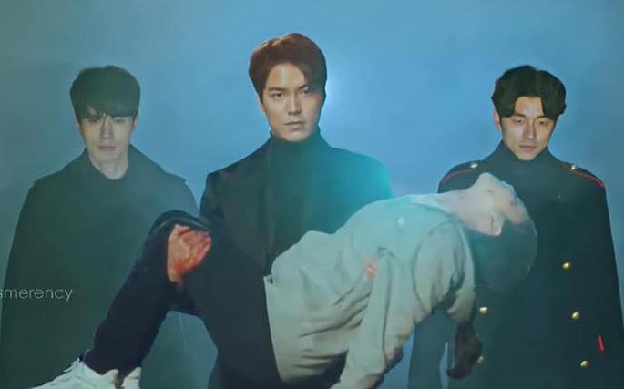 Bức ảnh Yêu Tinh và Thần Chết hộ tống Lee Min Ho giải cứu Kim Go Eun ở Quân Vương Bất Diệt là ảnh chế hot nhất hôm nay
