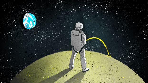 Nước tiểu của phi hành gia trở thành thứ quý hiếm trên Mặt Trăng - ảnh 1