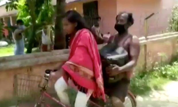 Bức ảnh bé gái 15 tuổi đạp xe 1.200km đưa bố về quê gây bão MXH và câu chuyện khiến mọi người vừa thương vừa nể phục - ảnh 2
