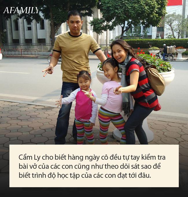 Các con của Cẩm Ly: Học trường nửa tỷ, ở biệt thự 1 triệu USD, từ nhỏ đã được bà mẹ nổi tiếng kèm cặp sát sao như này - Ảnh 5.