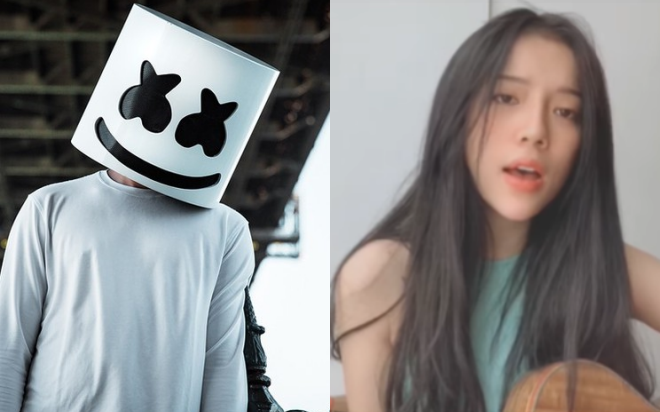 DJ hàng đầu thế giới Marshmello đích thân chia sẻ đoạn clip LyLy cover hit mới nhất của mình, còn vào tận YouTube để gửi lời cảm ơn!