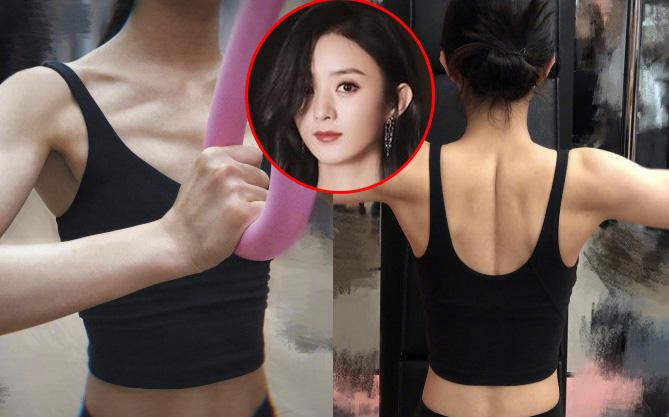 """Hot nhất Weibo hiện tại: Triệu Lệ Dĩnh khiến netizen choáng nặng với màn khoe cơ bắp """"cuồn cuộn"""" khó tin"""