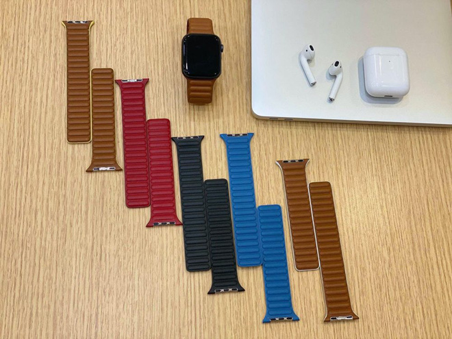 """Lộ hình ảnh dây đeo """"nổi gân"""" mới của Apple Watch - ảnh 2"""