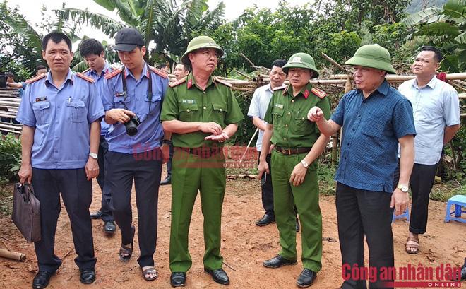 Điện Biên: Bố dượng chém tử vong hai vợ chồng con gái rồi tự sát - ảnh 1