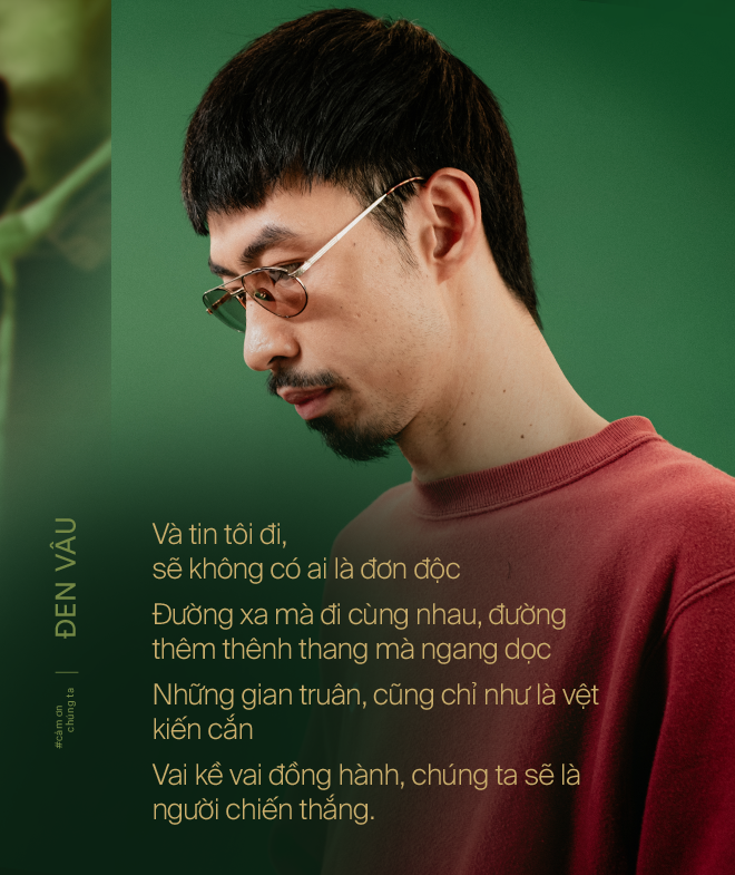 """""""Cảm Ơn Chúng Ta - Đen Vâu: Dành tặng những trái tim Việt Nam cùng chung một niềm tin chiến thắng - Ảnh 8."""