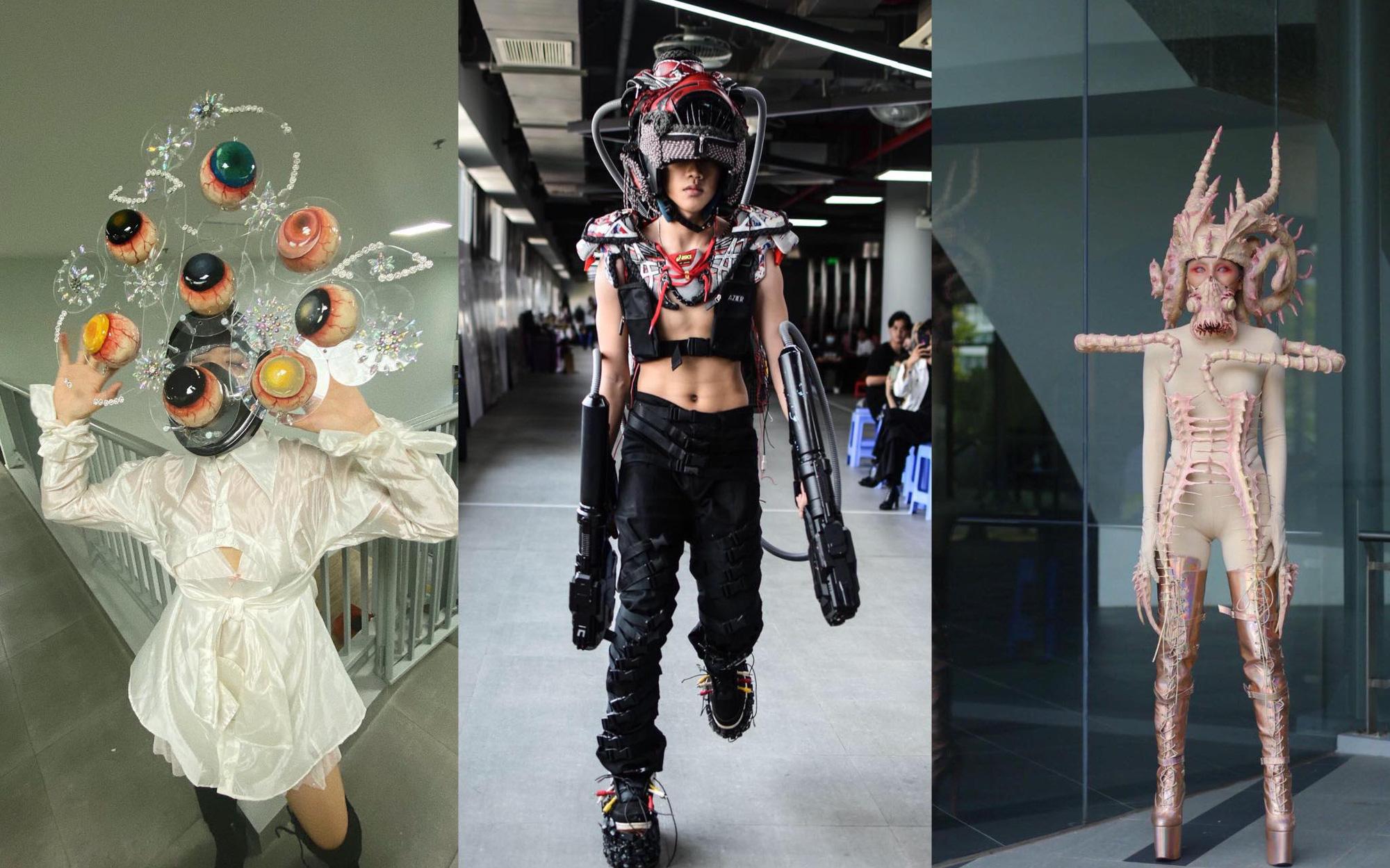 Đồ án cuối kỳ của sinh viên thời trang khiến dân mạng trầm trồ: Đến các nhà thiết kế lớn cũng phải ngậm ngùi nể phục