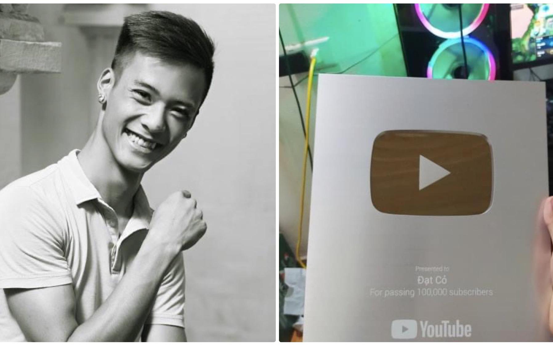 4 năm sau ngày mất, Đạt Cỏ - ''bản sao Tuấn Hưng'' một thời đã đạt được ước mơ có nút bạc YouTube