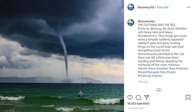 Bức ảnh Ông già và biển cả phiên bản Việt lọt top 1 ảnh về câu chuyện đại dương do National Geographic bình chọn và chia sẻ đầu tiên của chính tác giả - ảnh 4