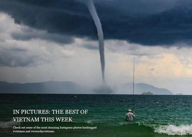 Bức ảnh Ông già và biển cả phiên bản Việt lọt top 1 ảnh về câu chuyện đại dương do National Geographic bình chọn và chia sẻ đầu tiên của chính tác giả - ảnh 5
