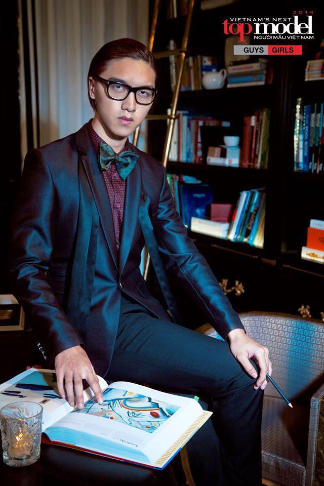 Bạn trai CEO màu tím của Người ấy là ai từng tham gia Vietnam's Next Top Model với 2 vai trò đặc biệt! - ảnh 13