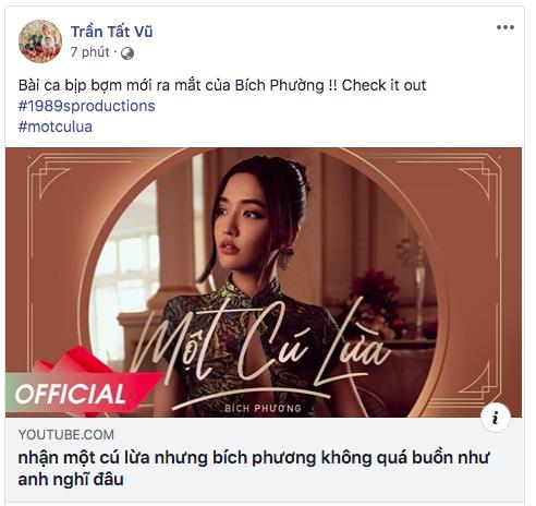 BigDaddy, Orange và netizen đồng loạt ca ngợi MV Một Cú Lừa của Bích Phương, lừa người ta thế này bảo sao @traitimtrongvang bị block! - ảnh 2