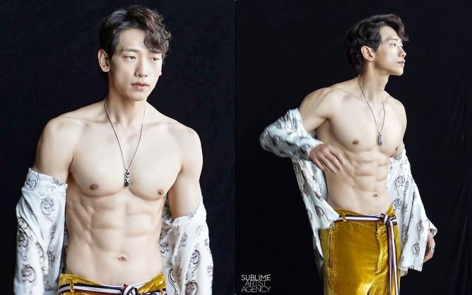 """Cái nóng 40 độ cũng không """"hầm hập"""" như múi bụng của Bi Rain: Ông xã 38 tuổi của chị Kim Tae Hee, bố bỉm sữa 2 con đây ư?"""