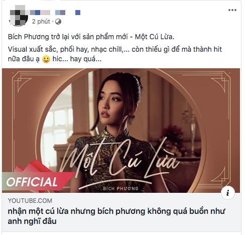 BigDaddy, Orange và netizen đồng loạt ca ngợi MV Một Cú Lừa của Bích Phương, lừa người ta thế này bảo sao @traitimtrongvang bị block! - ảnh 4