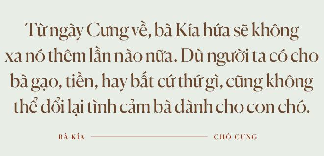Cuộc đoàn tụ của cụ bà và con chó Cưng ở Hà Giang: Chó về rồi, bà không khóc nữa - Ảnh 9.