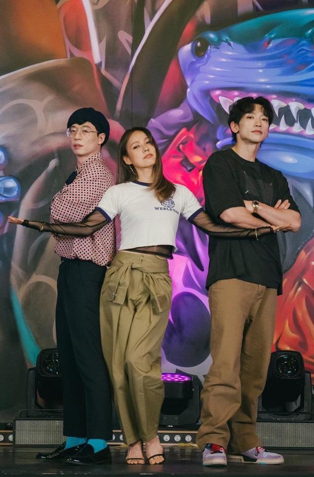 """Nhóm tân binh khủng long"""" Bi Rain, Lee Hyori và Yoo Jae Suk ấn định ngày debut nhưng băn khoăn chuyện đặt tên, netizen: """"Lây luôn tên Siêu Khủng cho rồi""""? - ảnh 1"""