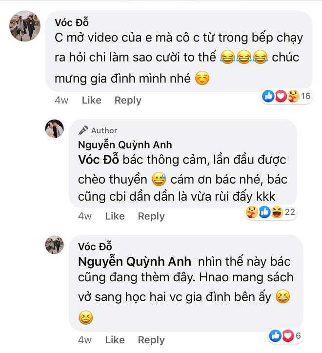 Nhìn Quỳnh Anh được chồng chiều, bạn gái giàu sụ của hậu vệ CLB Hà Nội cũng háo hức muốn bầu theo - ảnh 3