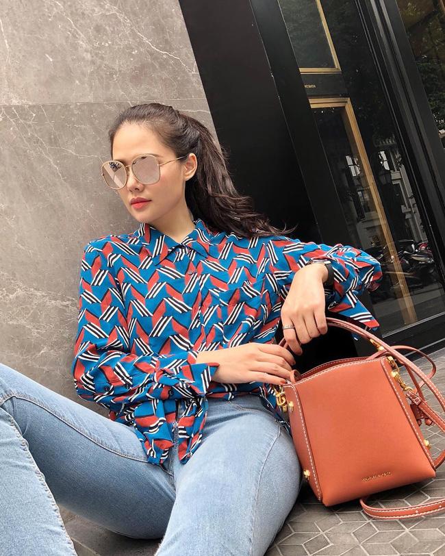 Phanh Lee có 10 cách diện áo blouse cực khéo, chị em học theo thì đi làm hay đi chơi cũng được khen mặc đẹp - Ảnh 8.