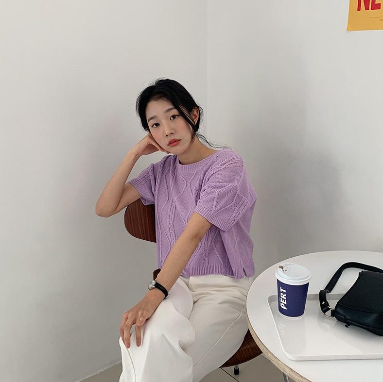 4 items kết hợp cực nuột với áo tím hot hit, chị em diện lên chỉ đẹp và sang chứ không có chuyện sến - Ảnh 9.